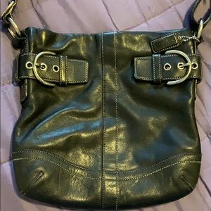Coach crossbody bag and wallet combo